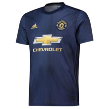 2019 New Season 2018/2019 MANCHESTER UNITED Blue Away Football Jersey For Men