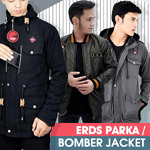 NEW COLLECTION - ERDS Jaket Pria Kicksoogar - Jaket Bomber X Urband - Good Quality - Best Seller