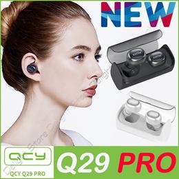 ◆Authentic◆QCY Q29PRO Tws Business Bluetooth Earphones Wireless 3D Stereo Headphones Headset