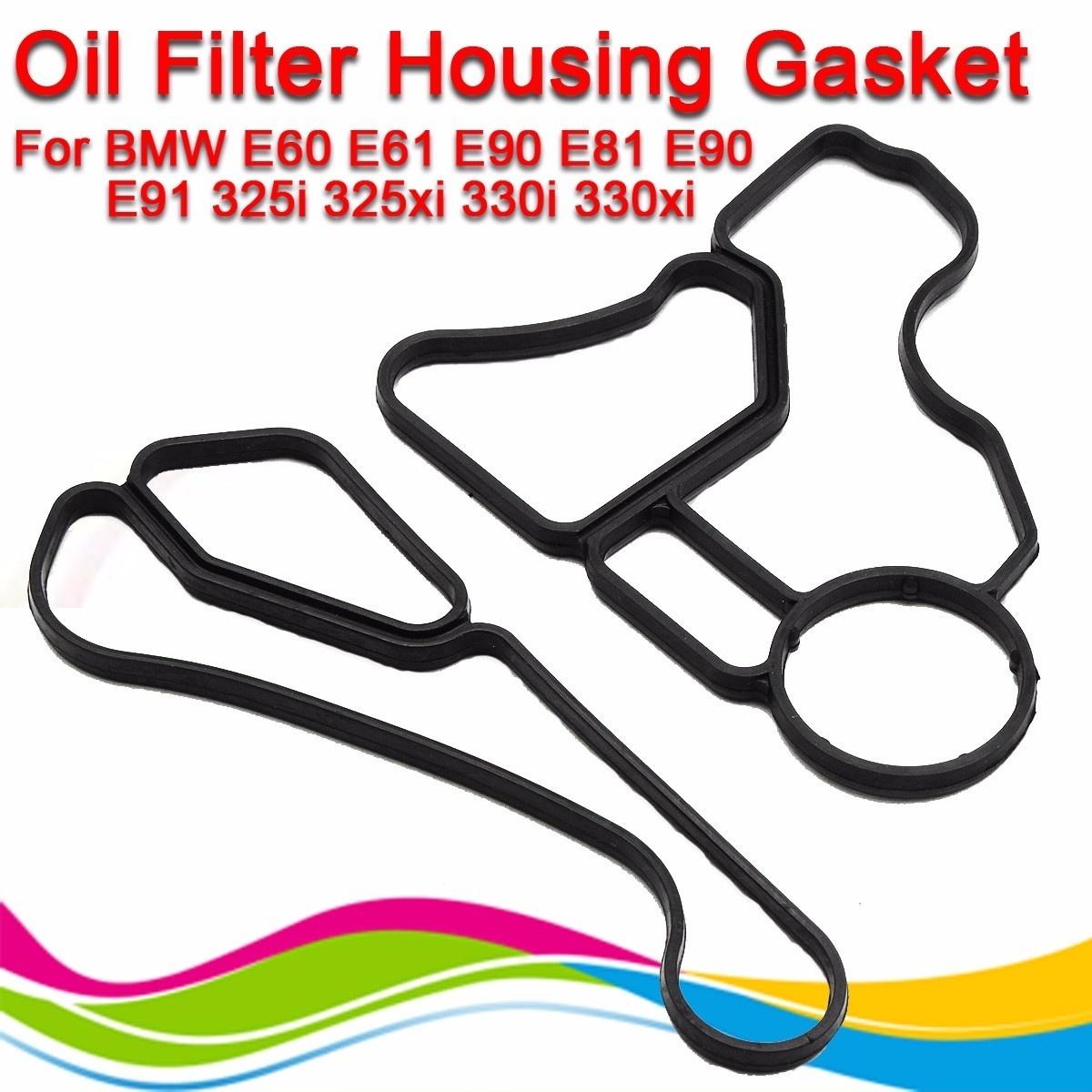 Qoo10 2pcs Oil Filter Housing Seal Gasket For E60 E61 E81 E90 E91 Bmw Fit To Viewer Prev Next