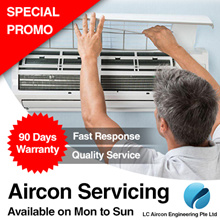 AIRCON Cleaning with Free 90 days Warranty (Price Stated is for 1 or 2 units)