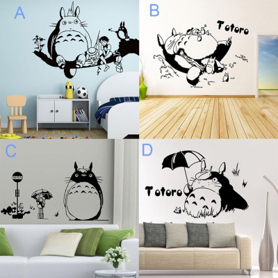 Anime My Neighbor Totoro Wall Stick Wall Decal For Bedroom Living Room Home  Removable