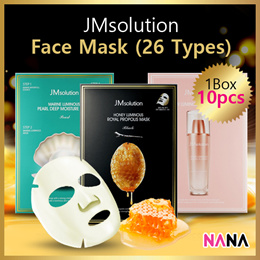 JM Solution Mask Series (Honey Propolis/Pearl Deep/Avocado Nourishing/Flower Firming/Golden Cocoon)