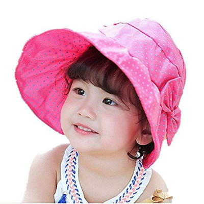 fd3cdfa9 [WENDY WU] WENDYWU Baby & Toddler Flap Sun Protection Swim Summer Hat Baby  Sun