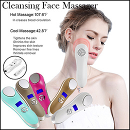 New Fashion Sonic Skin Cleansing instrument ultrasonic beauty electric freckle wrinkle Skin /Facial Skin Rejuvenation Pores Deep Cleansing Face Massager /Care Face Care tool