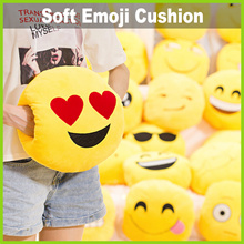 [Life+] Emoji Cushion with Hand Slot ★ Acts as a Hand Warmer • Adorable Designs • 25cm Diameter