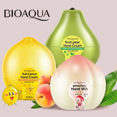 HAND CREAM FRUIT HAND AND BODY LOTION BIOAQUA Deals for only Rp15.000 instead of Rp30.000