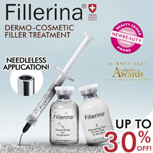 FREE $88 CREAM! ONE DAY ONLY! FILLERINA DERMO-COSMETIC FILLER TREATMENT Grade 2/Grade 3
