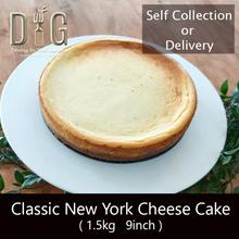 NY Cheesecake 1.5kg 9inch