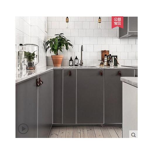 Qoo10 Kitchen Cabinet Door Wall Stickers Waterproof Wallpaper Self Adhesive Furniture Deco