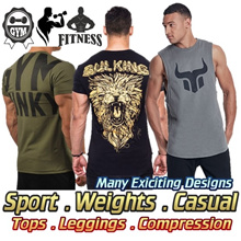 Men Sports Wear Sale★Home Gym Wear T-Shirt Shorts★Dumbbell★Compression Wear★ Running★70% Cheaper
