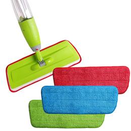 2 Pcs Replacement Microfibre Spray Mop Refill Pad