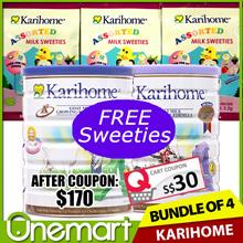 [KARIHOME] 900g Goat Milk Powder ★ From New Zealand ★ for Kids 12m+ or 3yo+ BUNDLE OF 4