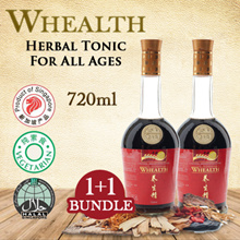 WHEALTH Health Tonic 720ml X 2 bottles -  Herbal Tonic For All Age