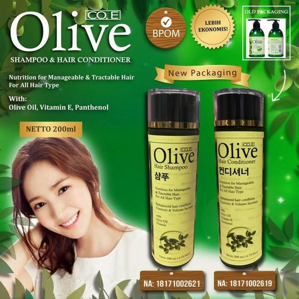 ? KEMASAN BARU! ? Olive Shampoo FREE Conditioner | Rambut Mudah Diatur dan Lembut Ternutrisi ? Deals for only Rp145.000 instead of Rp145.000