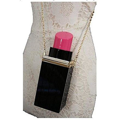 Women Acrylic Evening Bags Clutch Vintage Banquet Handbag Lipstick Purses Shape