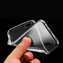 Ultra Thin TPU Transparent Case Casing Cover For iPhone Samsung Xiaomi Asus Sony Huawei Oppo Vivo