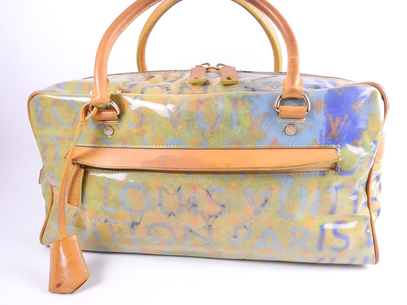 Qoo10 - Louis Vuitton Monogram pulp Weekender GM Boston bag ... 240251f7fa41b