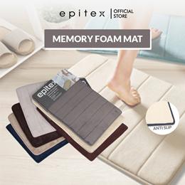 Epitex Deluxe Ultra-Absorbent Anti-Slip Memory Foam Floor Mat | Comfortable Carpet | Rug | Soft