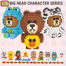 LINE FRIENDS ♥ For both Adults n Kids【LOZ Diamond CHARACTER BUILDING BOLCKS 】Educational Toy ♥ Gift