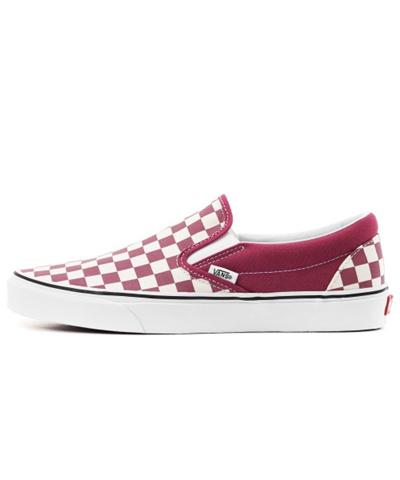 09162575357f Qoo10 - (VANS) Classic Slip-On - (Checkerboard) dry rose white ...
