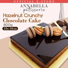 Gianduja Feuilletine Cake | 800g Hazelnut Crunchy Chocolate Cake | Free Everlasting Rose (OOS)