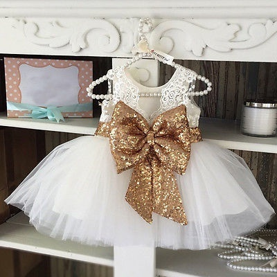 d9c208bf2a8b3 discount 0-10T New Fashion Sequin Flower Girl Dress Party Birthday wedding  princess Toddler baby Gir