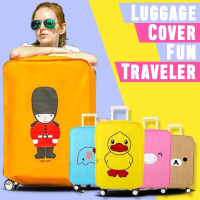 Luggage Cover Fun Traveler | Sarung Penutup | Pelindung Koper Travel Deals for only Rp29.000 instead of Rp29.000