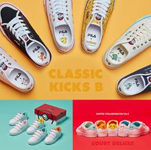 [FILA x POKEMON] Court Deluxe / Original Classic Kixx B series 17 Type sneakers shoes