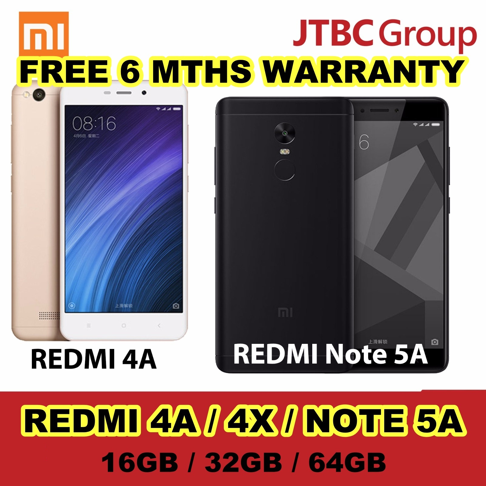 Qoo10 Xiaomi Redmi 4a 4x Mobile Devices 2gb 16gb Gold Show All Item Images