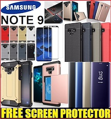 ★[Stocks in SG] Samsung Galaxy Note 9 Phone Case Casing Cover / Note 9 Case Friendly Tempered Glass