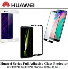 ★OFFER★Huawei P20 Series/P10 Series/Mate20/10 Series Full Adhesive Coverage Tempered Glass Protector