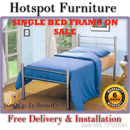 Nice Single  Bed  Frame Discount 50% Off *Fast / Free Delivery + Free Installation. In Stock SG