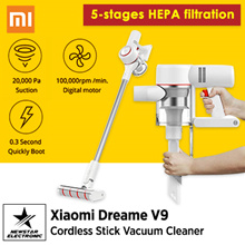 2019 NEW Xiaomi Dreame V9 Vacuum Cleaner Handheld Cordless Stick Aspirator Vacuum Cleaners