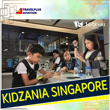 {TRAVELPLUS} SALE! KIDZANIA SINGAPORE (OPEN DATED E-TICKET)PERFECT ACTIVITIES ON SCHOOL HOLIDAYS