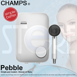 Champs Trimark Electric Shower Water Heater Instant Heater *Free Shipping by Qxpress* QX