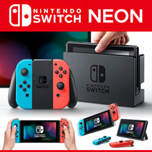 ⭐Endding Price ONLY $376 !!⭐  Nintendo Switch Console Neon 1 Year KOREA Warranty