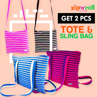 1+1 clearance sale 50% off Zip n roll Deals for only Rp39.000 instead of Rp39.000