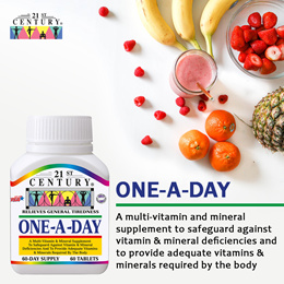 [21st Century] Boost your Immunity! One-A-Day 60s - Multivitamin and Mineral!