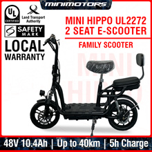 ★ Local UL2272 E-Scooter ★ Mini Hippo Family Electric Scooter (1 Year Warranty + Free shipping)