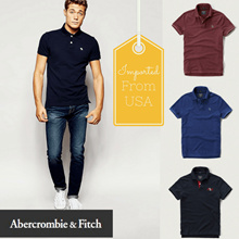 [Abercrombie n Fitch] Polo Tees!Super Sale 50-70% off!Imported from US!Free Qxpress Shipping!