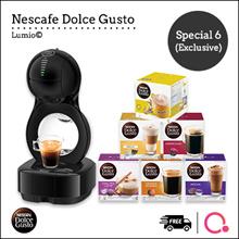【DOLCE GUSTO®】LUMIO® COFFEE MACHINE 【QOOLIFE **EXCLUSIVE**】