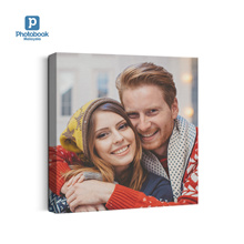 """Personalised 8""""x 8"""" Mini Square Canvas from Photobook Malaysia"""
