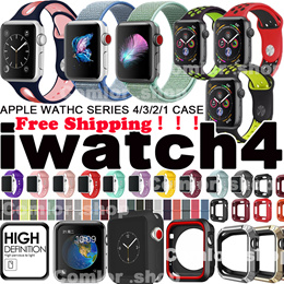 Free Shipping!! iWatch Watchband Strap Screen Protector for Apple Watch Series 4 3 2 1 44mm 40mm