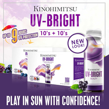 [TOP SELLER] Kinohimitsu UVBright 10s+10s | 9Hrs UV PROTECTION | Stay Fair and Bright [Beautiful]