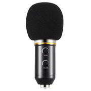 [CONDENSER MICROPHONE] BM - 300FX AUDIO SOUND RECORDING CONDENSER MICROPHONE WITH FOLDABLE TRIPOD [B