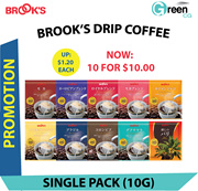 [PROMOTION] [MADE IN JAPAN] BROOKS DRIP COFFEE (MANY FLAVOURS AVAILABLE)