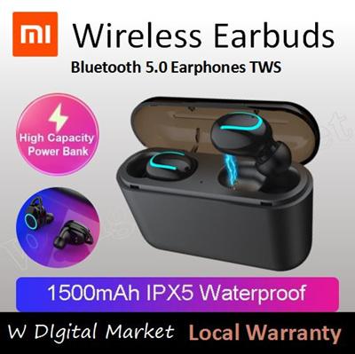 fc9370f18f8 Bluetooth 5.0 Earphones TWS Wireless Headphones Bluetooth Earphone  Handsfree Headphone Sports Earbu
