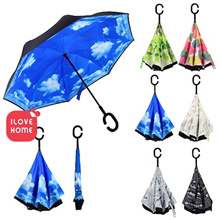 C-Type Handle Reverse Umbrella **Buy at RM19.9 with 22% Coupon!