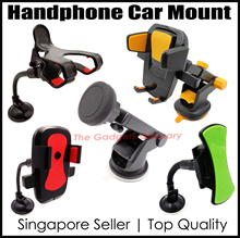 ★FREE SHIPPING★Car Phone Holder★Quality Assured★360° Rotation★Various Design★SG Seller